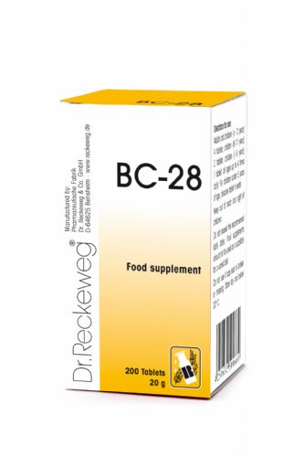 Schuessler BC28 combination cell salt - tissue salt
